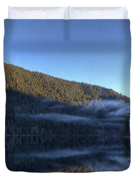 Morning Mist Duvet Cover