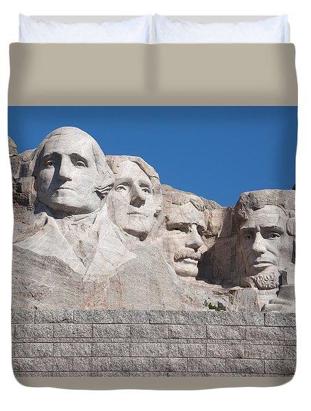 Mount Rushmore Duvet Cover