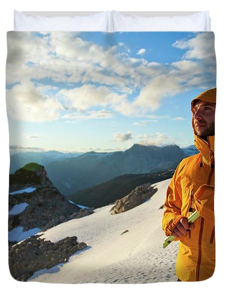 Mountaineering Duvet Cover