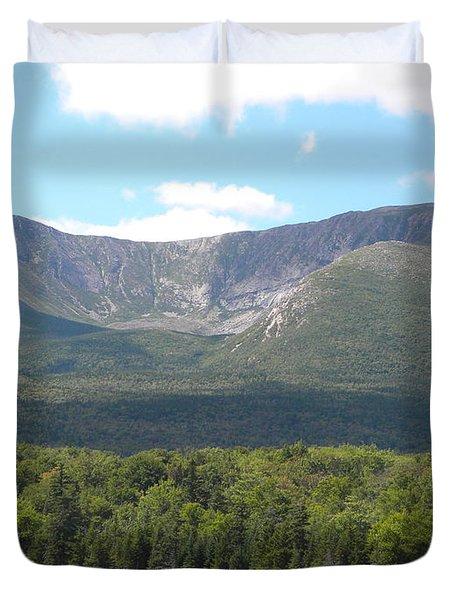 Mt. Katahdin Duvet Cover by James Petersen