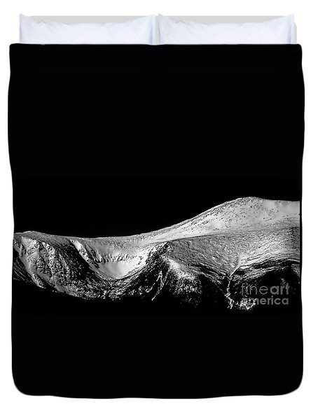 Mt Washington And Tuckerman Ravine Duvet Cover