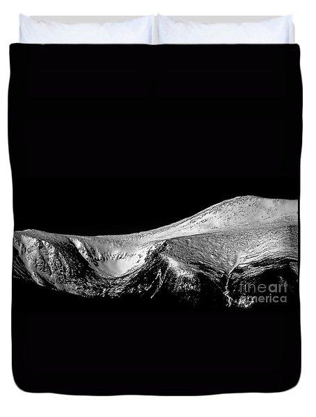 Mt Washington And Tuckerman Ravine Duvet Cover by Sharon Seaward