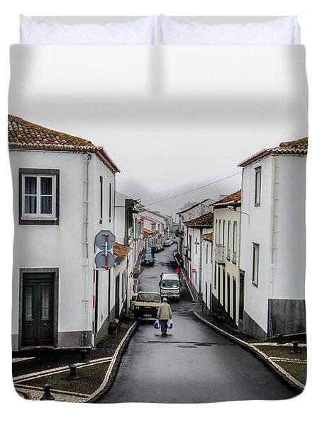 Municipality Of Ribeira Grande Duvet Cover