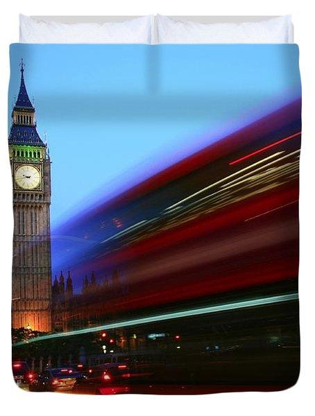 Must Be London Duvet Cover