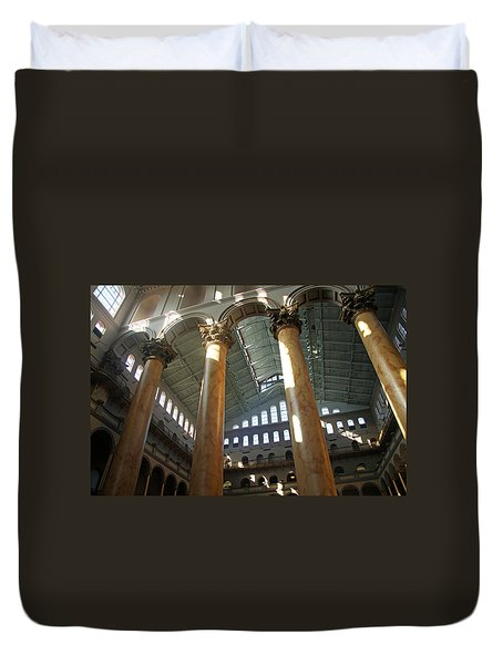 National Building Museum Duvet Cover by Cora Wandel