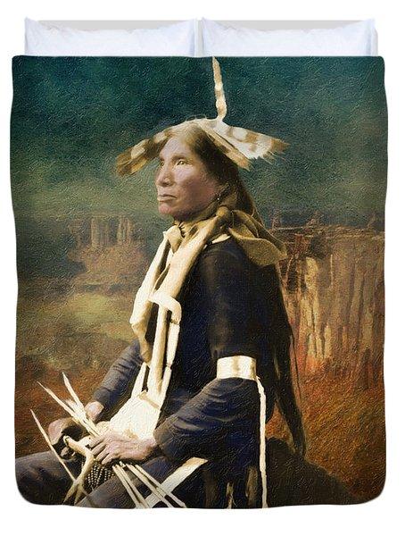 Native Honor Duvet Cover