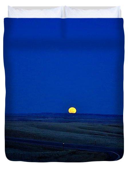 Native Moon Duvet Cover