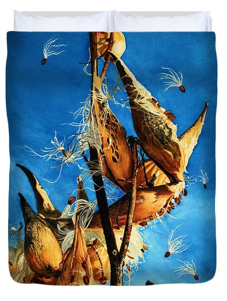 Nature's Launch Pad Duvet Cover