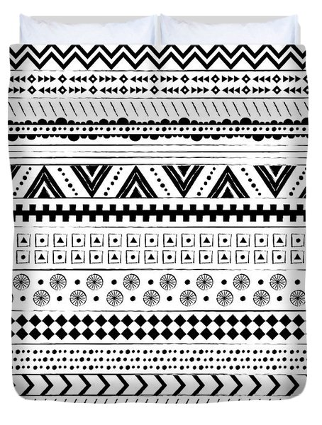 Navajo Surf Repeat Print Duvet Cover