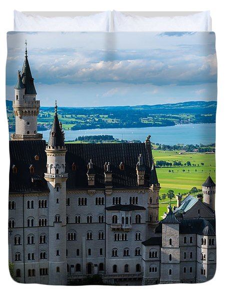 Neuschwanstein Castle - Bavaria - Germany Duvet Cover