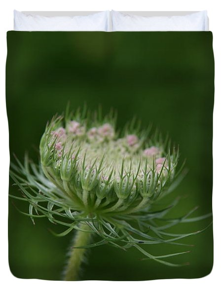 Duvet Cover featuring the photograph New Beginning by Neal Eslinger