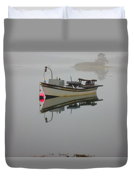 New Hampshire Sea Coast  Duvet Cover