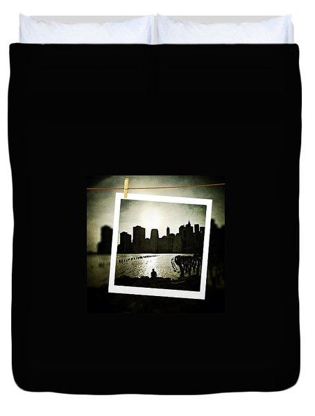 New York In June Duvet Cover by Natasha Marco
