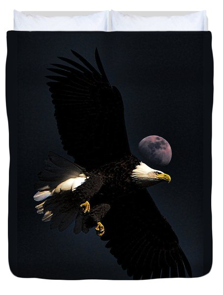 Night Moves Duvet Cover