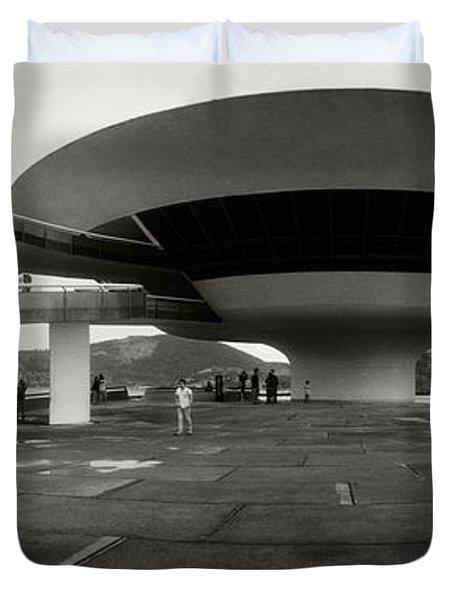 Niteroi Contemporary Art Museum Duvet Cover