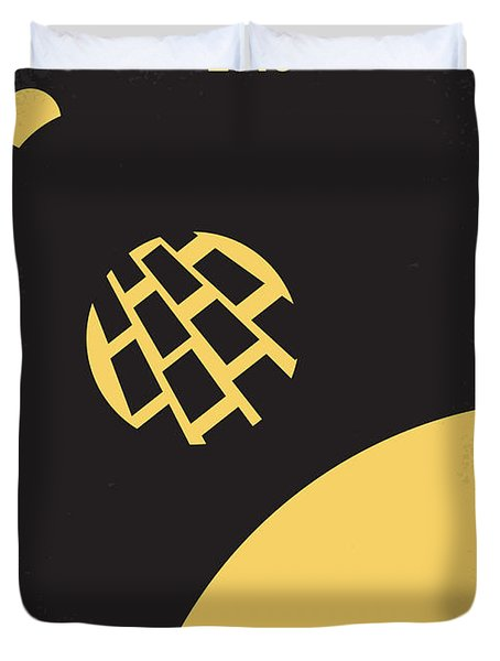 No365 My 2010 Minimal Movie Poster Duvet Cover