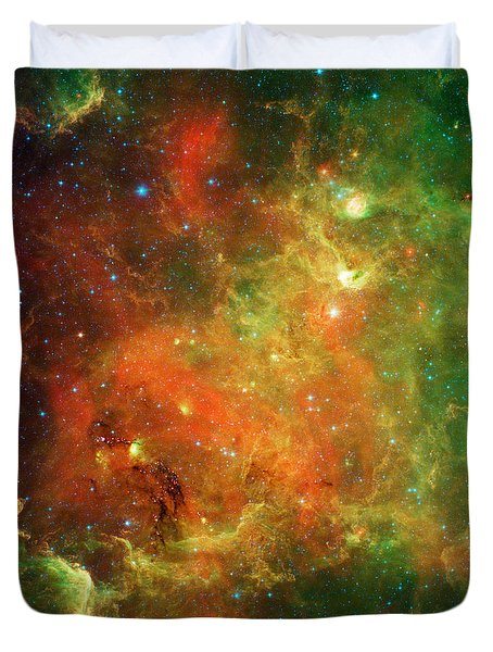 North America Nebula Duvet Cover by Science Source