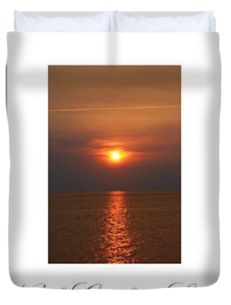 North Carolina Seashore Duvet Cover