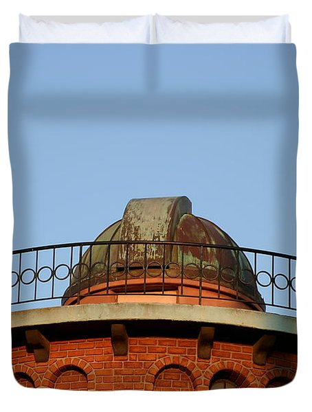 Duvet Cover featuring the photograph Old Observatory by Henrik Lehnerer
