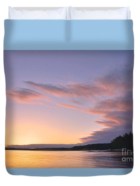 On Puget Sound - 2 Duvet Cover