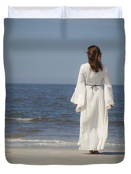 On The Beach Duvet Cover