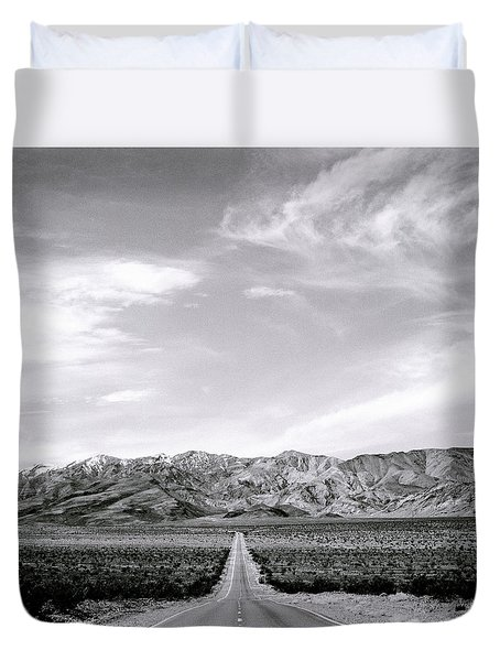 On The Road Duvet Cover by Shaun Higson