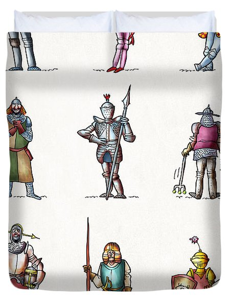 One Knight Stands Duvet Cover