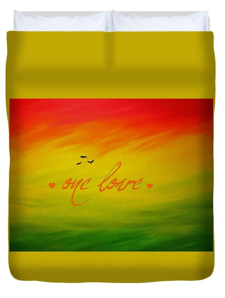 One Love Duvet Cover