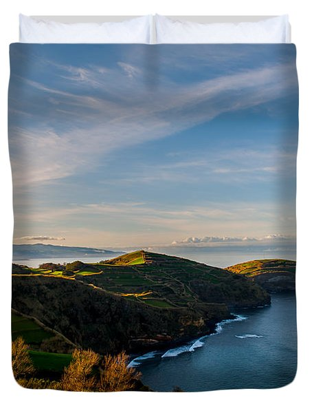 Out Bond To The Sea Duvet Cover