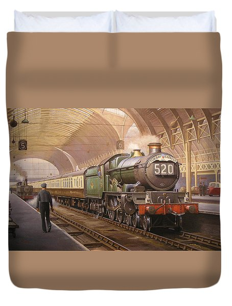 Paddington Arrival. Duvet Cover