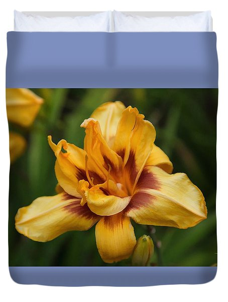 Duvet Cover featuring the photograph Painted By Nature by Dennis Baswell