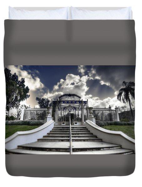 Palm House Duvet Cover by Wayne Sherriff