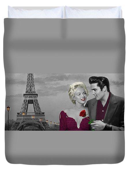 Paris Sunset Duvet Cover by Chris Consani