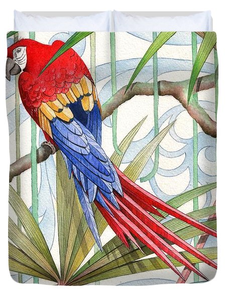 Parrot, 2008 Duvet Cover