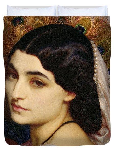 Pavonia, 1859 Duvet Cover