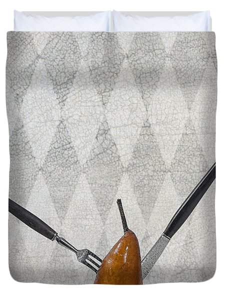 Pear Duvet Cover by Joana Kruse