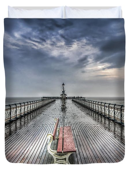 Penarth Pier 4 Duvet Cover