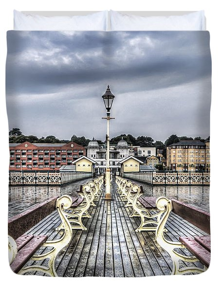 Penarth Pier 5 Duvet Cover