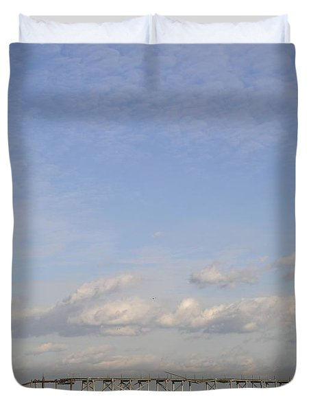 Pier Wave Duvet Cover