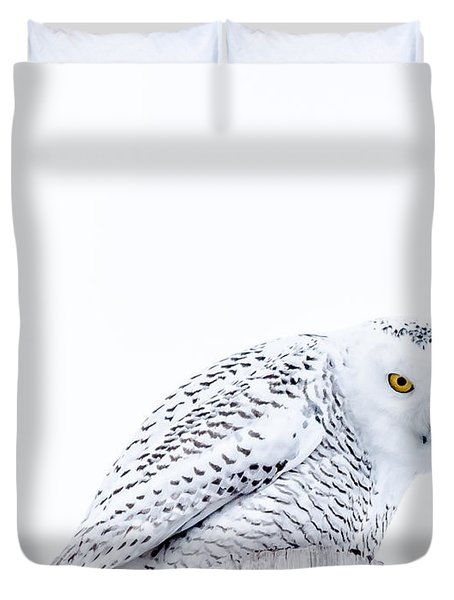 Piercing Eyes Duvet Cover