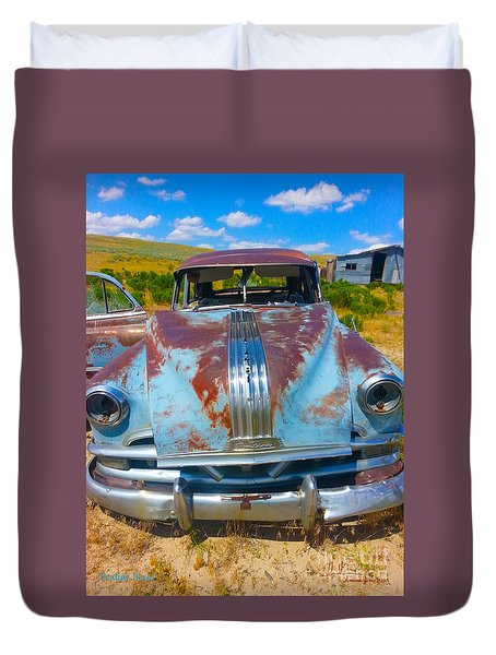 Pontiac Blues Duvet Cover