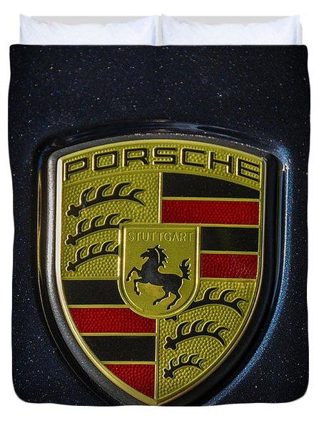 Porsche Logo Duvet Cover
