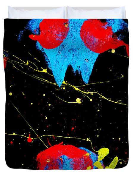Posterior Impressions Duvet Cover by Mayhem Mediums