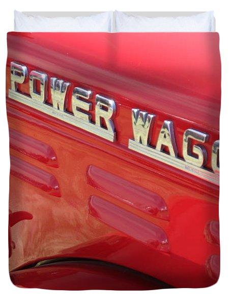 Power Wagon Duvet Cover