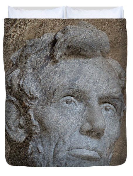 President Lincoln Duvet Cover by Skip Willits