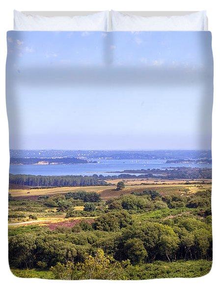 Purbeck - Dorset Duvet Cover by Joana Kruse