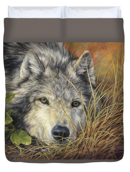 Pure Soul Duvet Cover