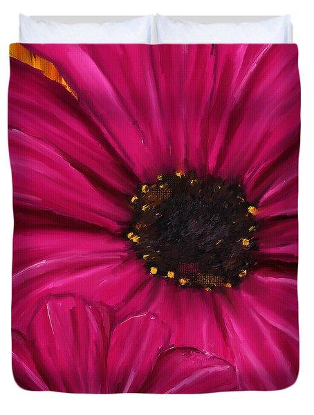Purple Beauty Duvet Cover by Lourry Legarde