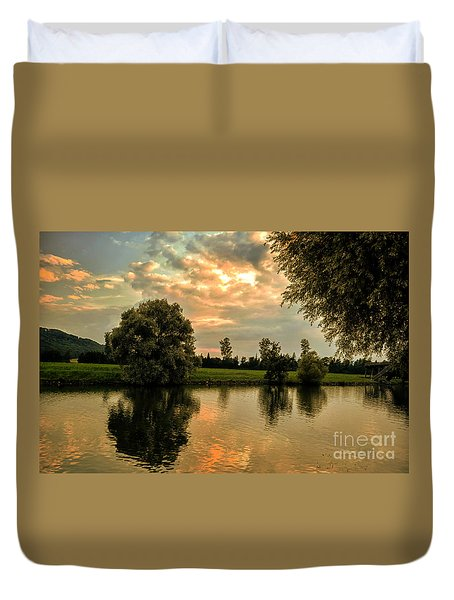 Quiet Evening Duvet Cover