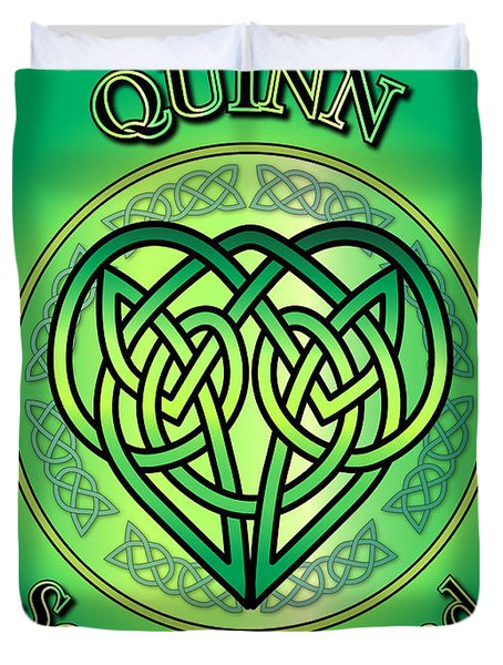 Quinn Soul Of Ireland Duvet Cover
